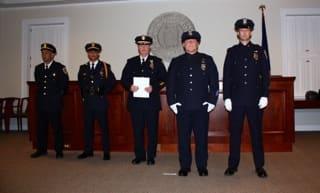The Bedford Police Department held its annual award presentation on May 14 at the Bedford Town House.