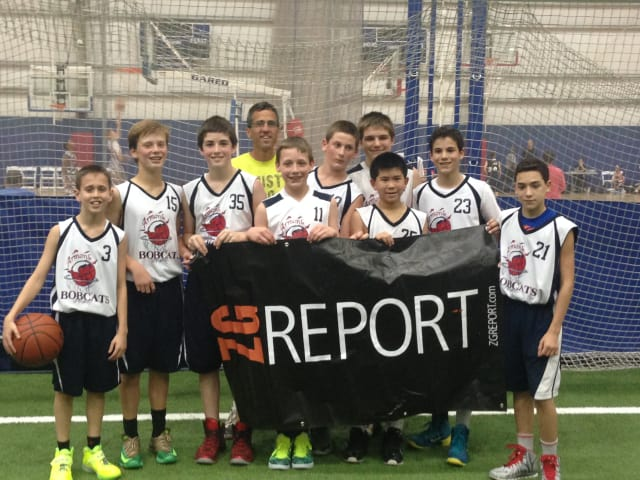 The Armonk Bobcats AAU basketball team recently won the Zero Gravity Tournament.
