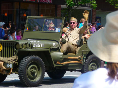 The Town of New Castle Memorial Day Parade will step off at 11 a.m. Monday, May 26.