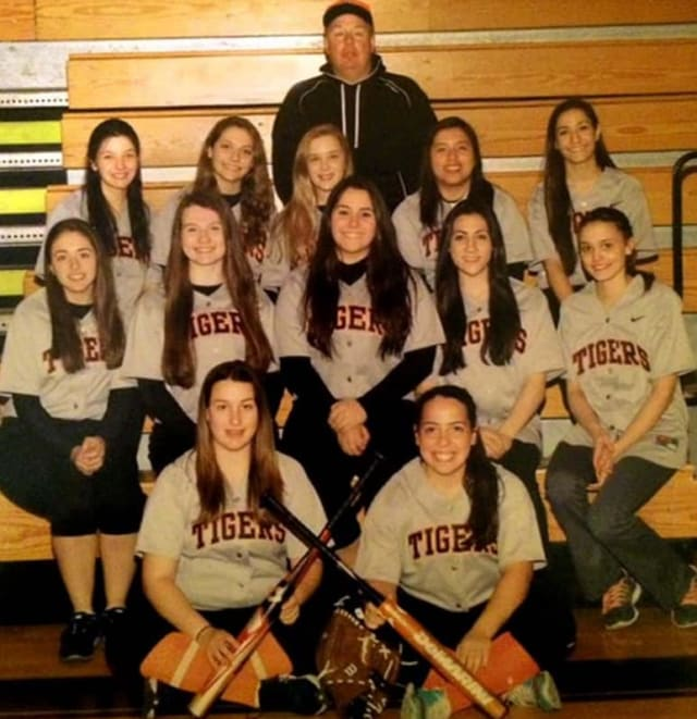 The Tuckahoe varsity softball team -- which features some talent from Bronxville -- surprised some after losing seven seniors to graduation.