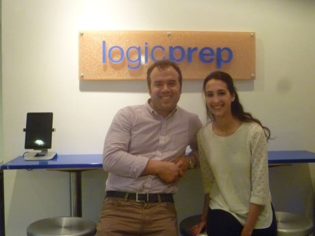 Jesse Kolber and Lindsay Tanne run LogicPrep in Armonk, which helps students prepare for the SATs, and other college entrance exams.