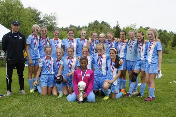 The CFC Chelsea Piers girls  soccer team won a tournament in Massachusetts over Memorial Day weekend.