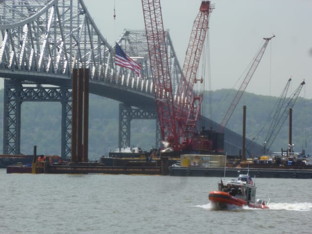 Boating near the New NY Bridge construction and the highways leading in and out of the bridge will be subject to safety restrictions and some lane closures this summer.
