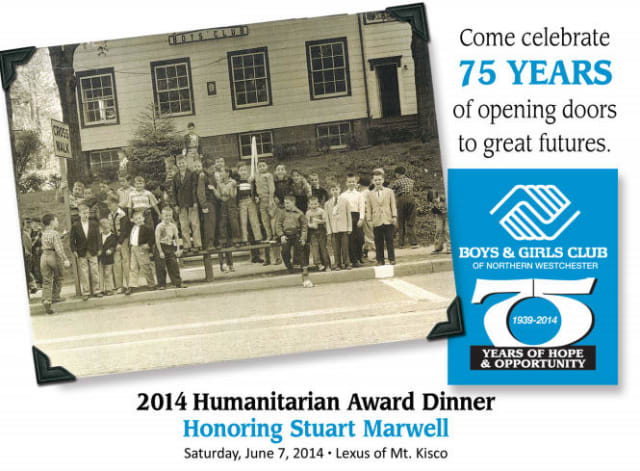 The Boys & Girls Club of Northern Westchester will host its 2014 Humanitarian Dinner to benefit the club on Saturday, June 7.