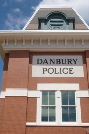 Danbury Police are searching for a woman who robbed a Chase Bank on Monday.