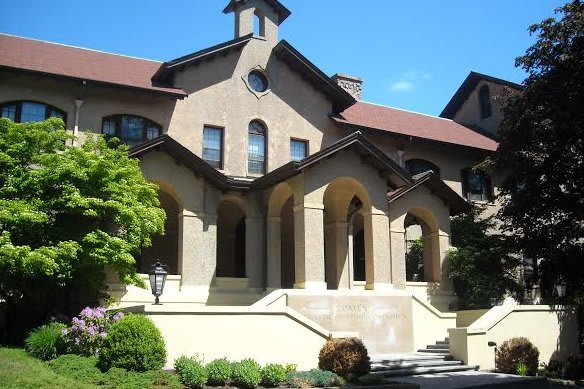 The campus of the Sisters of the Divine Compassion campus is at 52 N. Broadway.