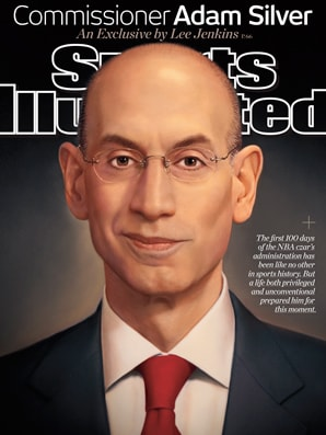 The Sports Illustrated issue that features NBA Commissioner and Rye native Adam Silver.
