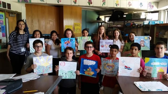 Northern Westchester Hospital will unveil a new pediatric family room with artwork created by Fox Lane Middle School.