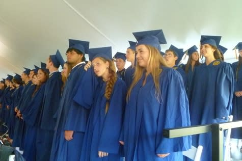 The Weston High School Class of 2014 will graduate at 6 p.m. Tuesday under a tent near the school.