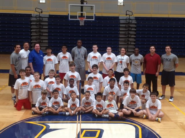 Pace University's Pat Kennedy will host a summer basketball camp for boys ages 6-17.