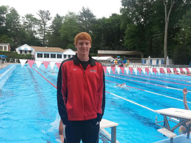Bronxville's Patrick Conaton, who trains at the Badger Swim Club in Larchmont, will represent America at the Youth Olympics.