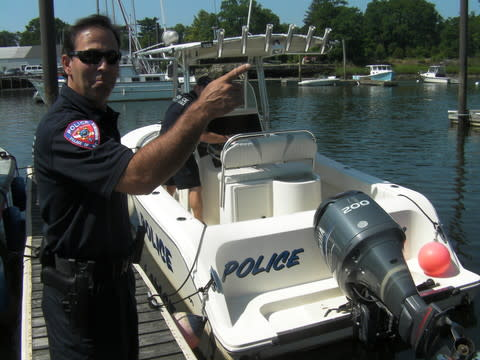 The village of Mamaroneck Police Department is participating in Operation Dry Water in efforts to reduce the number of accidents while boating under the influence.