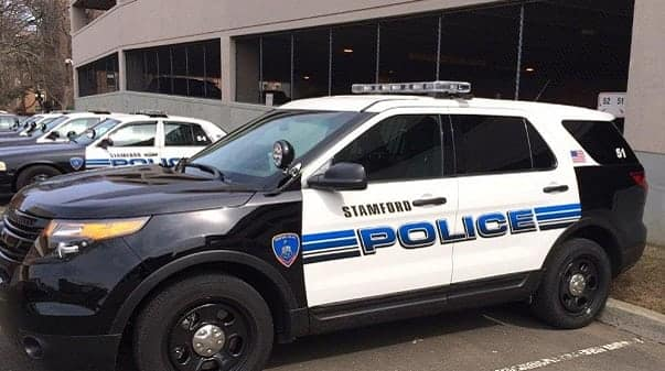 Stamford Police charge pair after late night party.