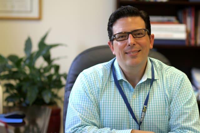 Pelham Union Free School District Superintendent Peter Giarrizzo.