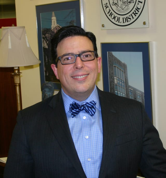 Pelham Schools Superintendent, Peter Giarrizzo.