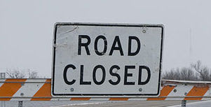 Elliott Way road repairs will cause some closures Friday.