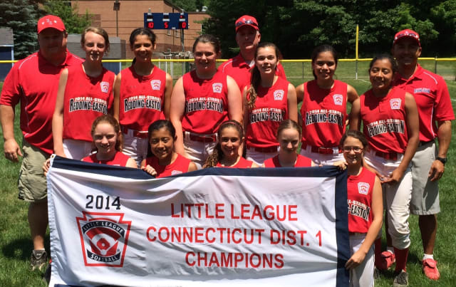 The Redding-Easton softball team won its first District 1 Major Division championship on Saturday.