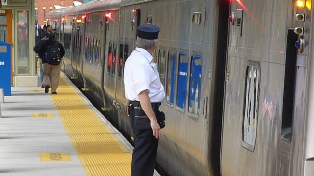 Nine rookie Metro-North conductors were fired after they were caught cheating on a safety exam.