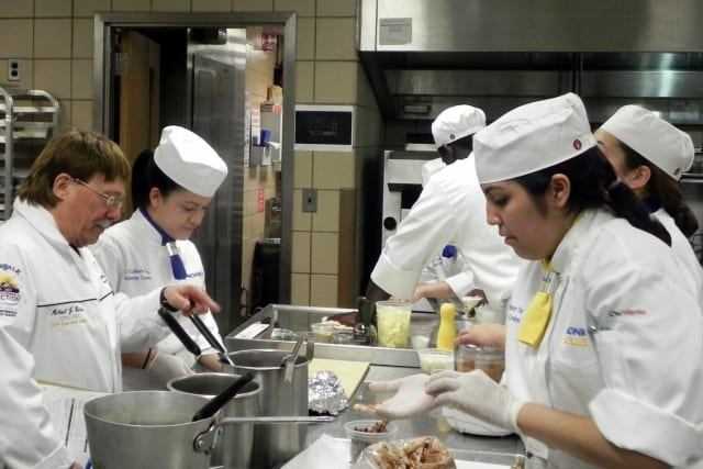 Monroe College's student-run restaurant The Dining Lab received a positive review in The New York Times, adding to the list of high praise for the college's culinary arts program.