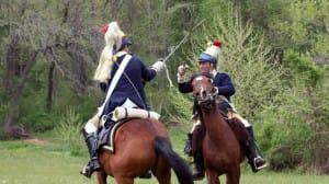 Sheldon's Horse 2nd Continental Light Dragoons Revolutionary War re-enactors will attend the Norwalk Historical Society's event Saturday to commemorate the burning and battle of Norwalk in the Revolutionary War.