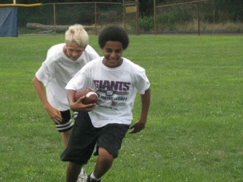 New York Giants Youth Football Camp will be held in 19 locations throughout the area during the month of July.