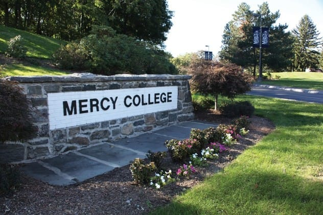 Students learn how to prepare for disasters through Mercy College's STEM program.