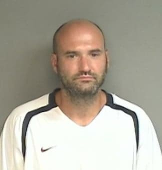 Joseph Faugno of Stamford was arrested on drug and littering drugs following a motor vehicle stop Sunday evening.
