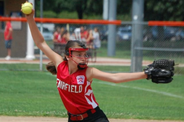 Kylee Holderied allowed three hits and struck out 21 in three games to lead the Fairfield Little League Girls Softball All-Stars to the 11-year-old state title.