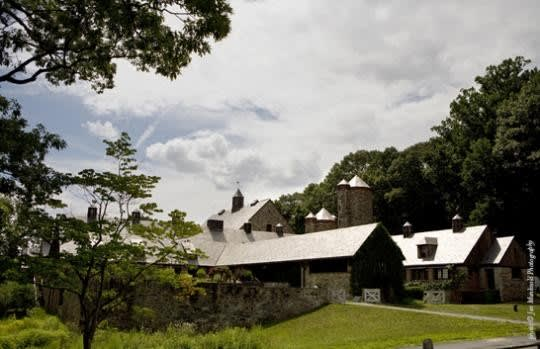 Blue Hill at Stone Barns is the  best restaurant to eat outside of New York City, according to Thrillist.