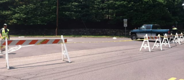 A 71-year-old New Canaan Public Works employee died Thursday in the hospital after he was struck by a vehicle Wednesday morning while working.