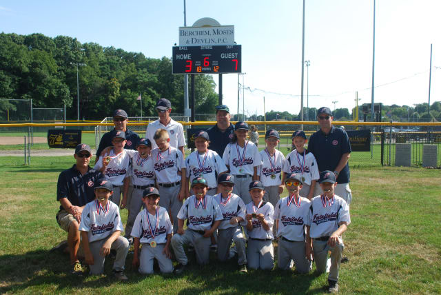 The All-Stars include (front, from left) Zach Nichols, Jack Doonan, Jake Balogh, Michael Rothberg, Ryan Goldberger, Zack Barry, Zack Hios, (back) Edmund Hogan, L.J. Coleman, Nick Hios, Charlie Mitola, Emily Johnson, Jim Kennelly and Harry Tavella.