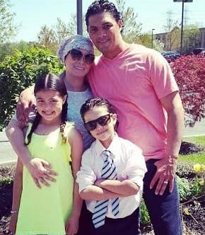 Cindy Guzman, her husband, Mario and children, Ava and Julian, are helping other cancer patients deal with the disease.
