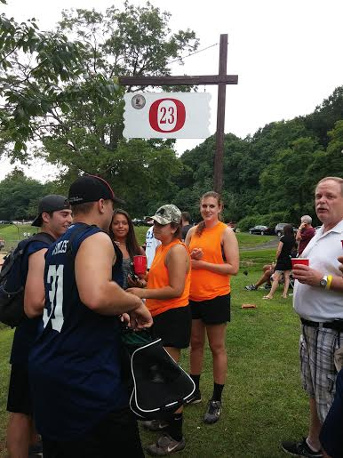 Players and volunteers gathered in Yonkers for the annual Christian Federico Memorial Softball Tournament, July 26 honoring the former Ossining High School athlete.