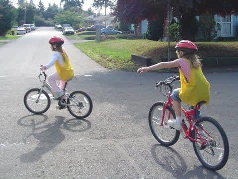 Families and children can learn about bike safety with Hudson Health Plan at a Yonkers block party on Saturday, Aug. 9.