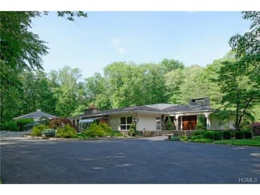 This house at 35 Horseshoe Hill Road in Pound Ridge is open for viewing on Sunday.