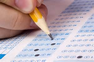 Student scores on Common Core math tests improved while ELA scores remained mostly flat.
