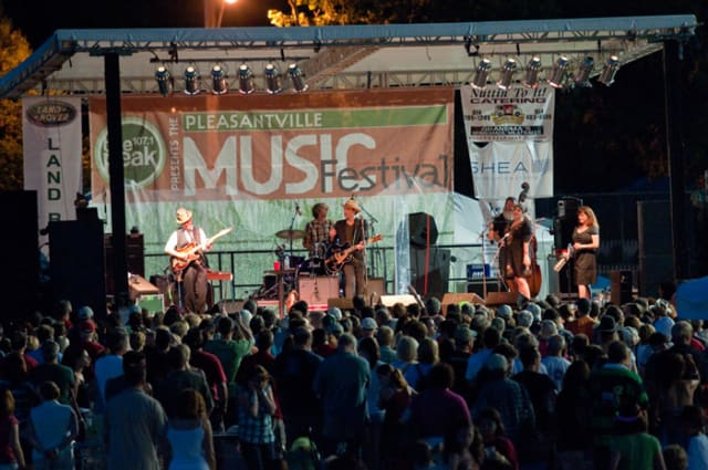 Pleasantville officials are looking for ways to maximize revenue from the annual music festival.