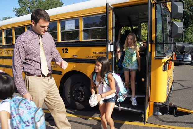 Darien students will head back to school for the first day of classes Monday.