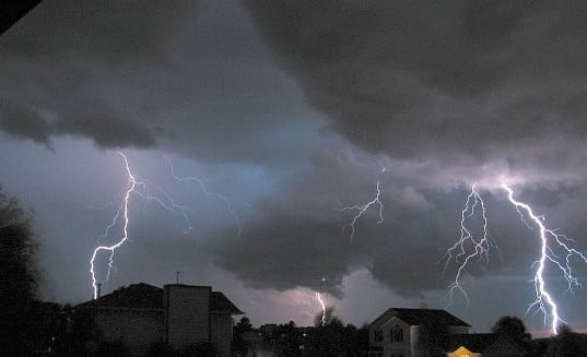 Thunderstorms are possible in Fairfield county on Thursday.