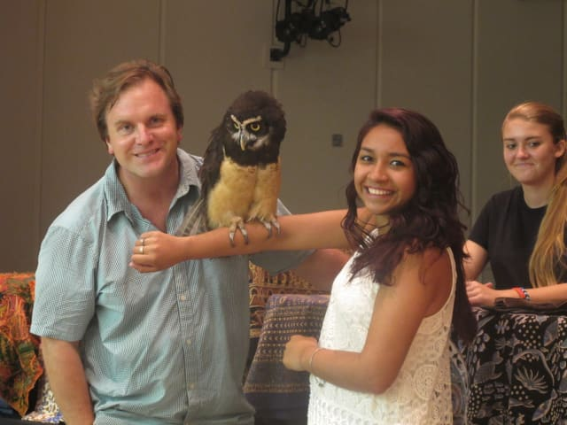 For one of the summer programs at the New Rochelle Public Library, Animal Embassy visited with a wide-array of animals.