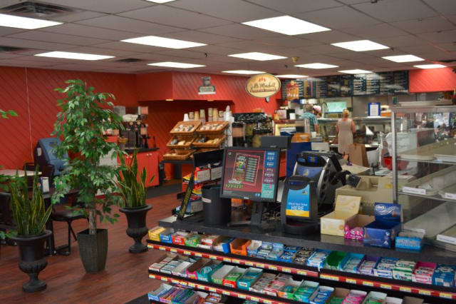 The interior of Hygrade Market in Croton Falls. Its name is being changed to Gordon's DeliCafé.
