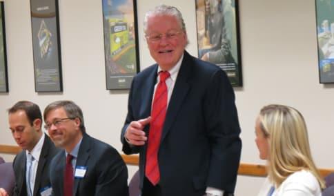 Fairfield First Selectman Michael Tetreau