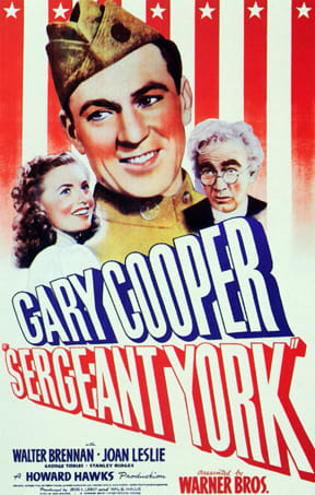 """""""Sergeant York"""" will be among three movies shown during the commemoration of the 100th anniversary of World War I, sponsored by the Weston Historical Society and the Weston Public Library."""