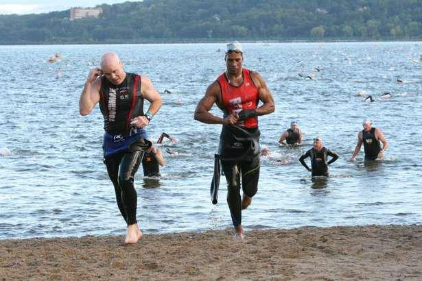 Triathletes will compete in races on Saturday, Sept. 6, and Sept. 7 in Croton-on-Hudson.