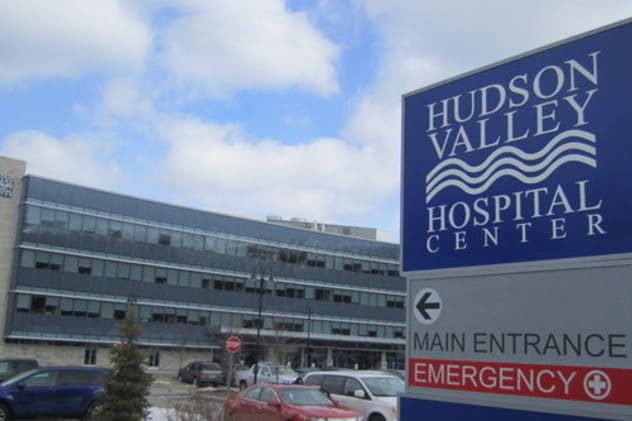 Hudson Valley Hospital Center in Cortlandt Manor.