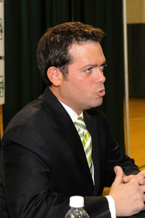 Steve Masiello is thankful for the adversity he faced during his resume controversy.