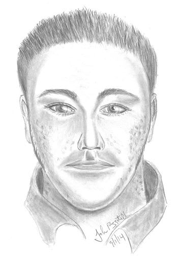 The suspect in a home burglary and assault is described as a short, stocky man in his 20s, Fairfield police said.