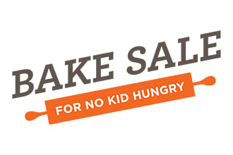 Help Chappaqua raise funds at its 5th annual bake sale to end childhood hunger for No Kid Hungry.