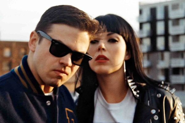 The Brooklyn-based duo Sleigh Bells will headline The Capitol Theatre in Port Chester on Friday Oct. 5.