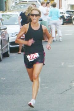 Greenwich's Sharon Vos has won her age group at the New York City Marathon for the last three years. She supports the decision to cancel this year's race.